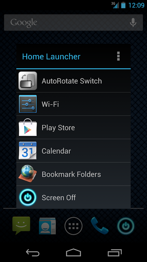 Home Button Launcher- screenshot