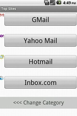 Top Sites- screenshot