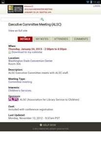 2013 ALA Midwinter Meeting - screenshot thumbnail