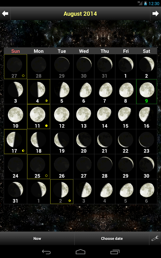 Daff Moon Phase Android Apps On Google Play