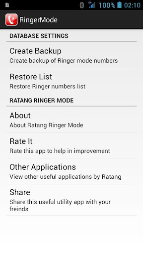 Ringer Mode