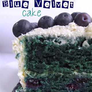 Blue Velvet Cake for Eurovision