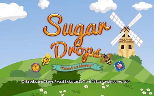 Sugar Drops - Match 3 puzzle