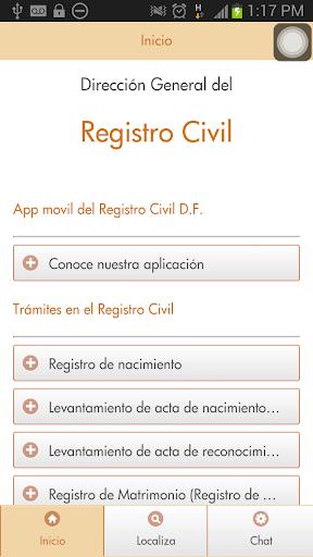 CEJUR - Registro Civil DF