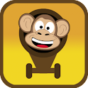 Preschool Cannonball Monkey logo