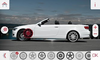 Screenshot of AEZ Wheels Configurator