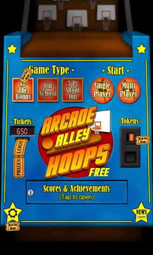 Arcade Alley Hoops Free