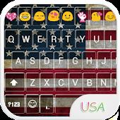 US Emoji Keyboard Theme