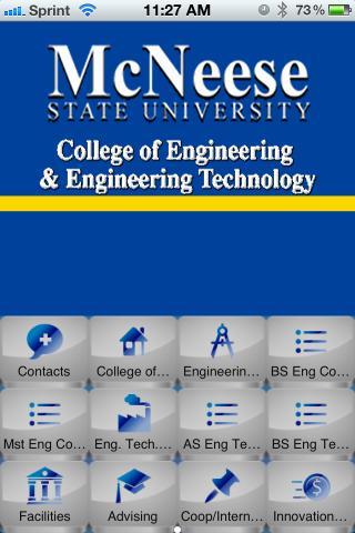 【免費教育App】Mcneese Engineering-APP點子