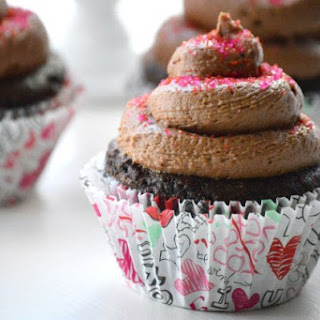 Gluten Free Chocolate Cupcakes for Two