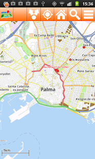 Mallorca Offline mappa Map- screenshot thumbnail