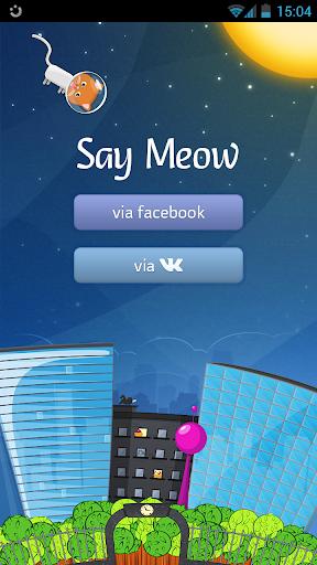 Say Meow