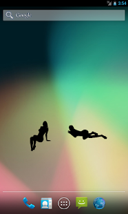 WomenSilhouette (free widget) - screenshot thumbnail