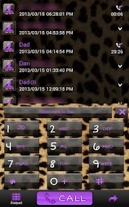 Complete Cheetah Purple Theme screenshot 4