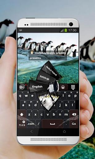 企鵝剛 GO Keyboard Theme