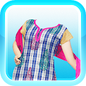 Girls Salwar Kameez Photomaker icon