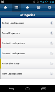 Bosch Loudspeaker Selection- screenshot thumbnail