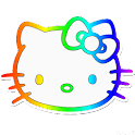 Kitty Rainbow Go Theme