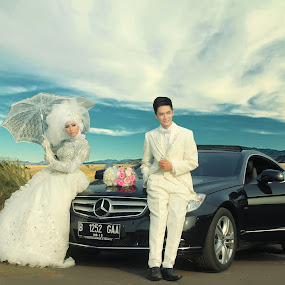 Edho & Rima by Deddy Shelter - Wedding Bride & Groom