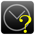 Time calculator as simple icon