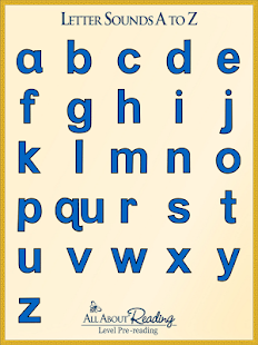Letter Sounds A to Z- screenshot thumbnail