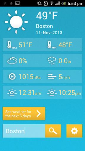 Happy Weather