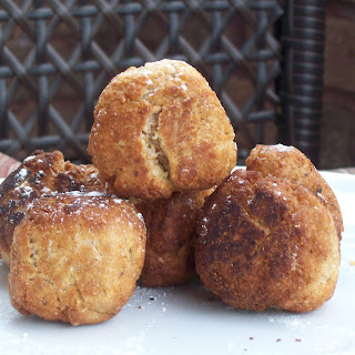 Whole Wheat Jelly Doughnuts (Sufganiyot).