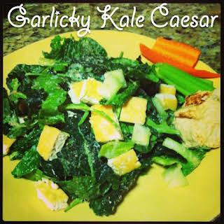 Garlicky Kale Caesar.