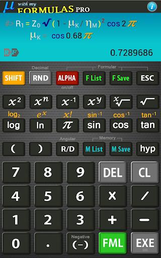 Scientific Calculator Mu Lite