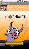 Screenshot of Radio Animati