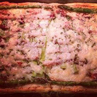 Asparagus, Prosciutto and Fontina Tart