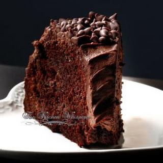 Sour Cream Chocolate Bundt Cake.