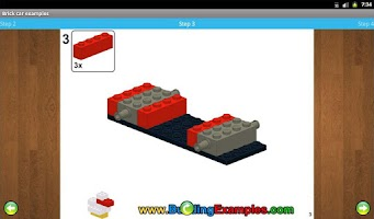 Screenshot of Brick car examples