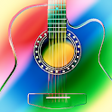 Guitars live wallpaper logo