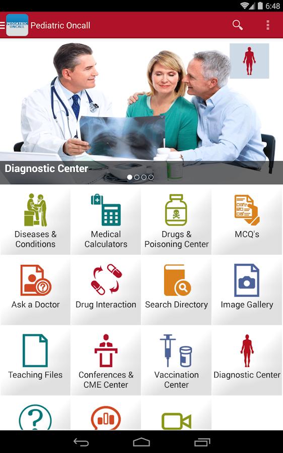 Pediatric OnCall - screenshot