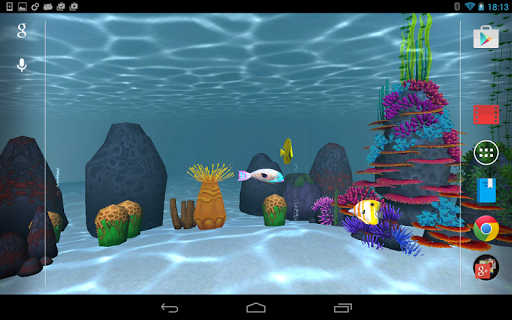 360 Aquarium Live Wallpaper