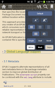 Gitden EPUB3 Reader - screenshot thumbnail