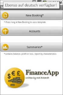 FinanceApp - screenshot thumbnail