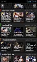 Screenshot of NBC Sports Talk