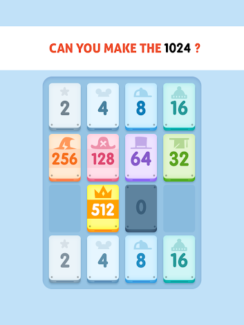 1024 Match Twos and Threes