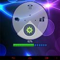 霓虹蓝高清GO锁屏主题 icon