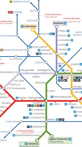 Milan Metro Free