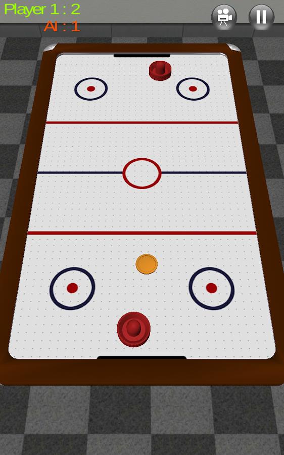 Air Hockey 3D Real Free - screenshot