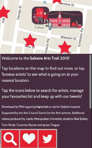 Saltaire Arts Trail 2013
