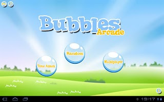 Screenshot of Bubble for tablet