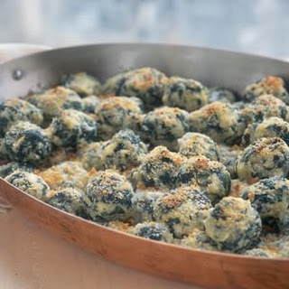 Gratinéed Ricotta and Spinach Gnocchi