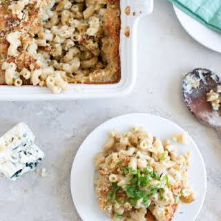 Blue Cheese Mac and Cheese..