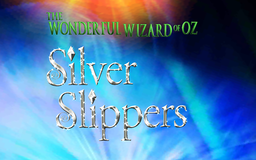 Wizard of Oz Silver Slippers