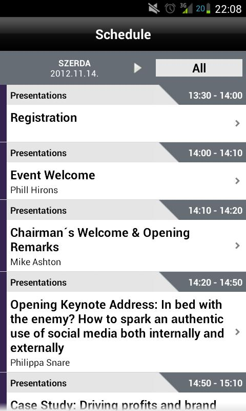CEE 2012 - screenshot