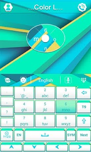 Color L GO Keyboard - screenshot thumbnail